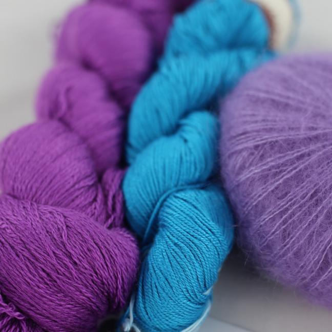 Kremke Soul Wool Garnpaket Tuch Karibikstrand Usambaratürkis