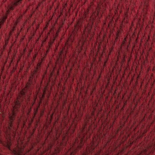 Kremke Soul Wool Eco Cashmere Fingering Kirschrot