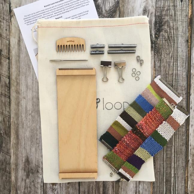 Purl & Loop Bracelet loom starter kit  10-fädige Kette