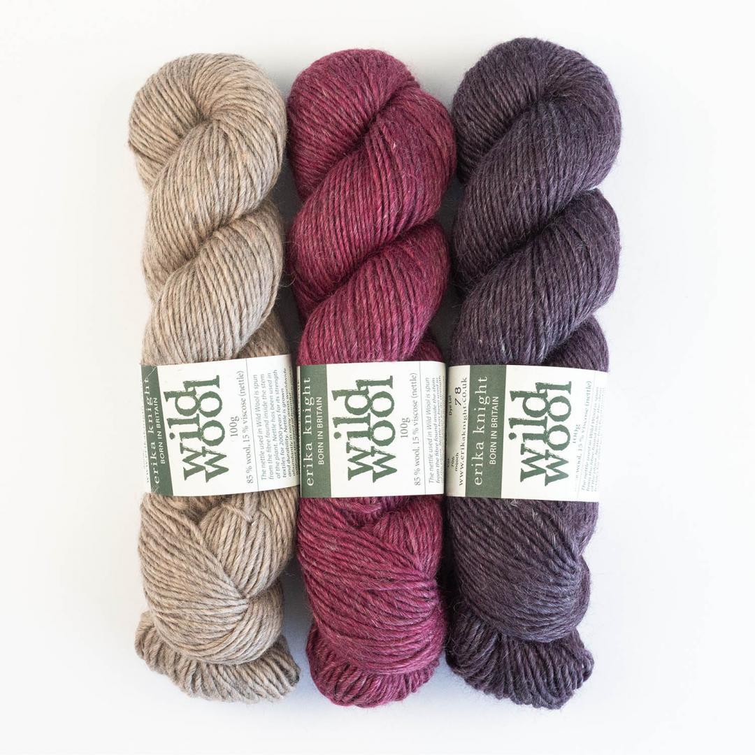 Erika Knight Wild Wool 100g  amble
