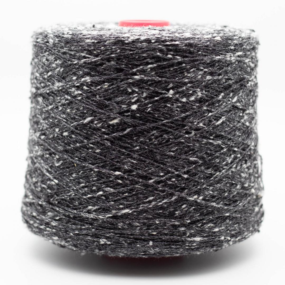 BC Garn Tussah Tweed on 800g-cones  aqua-mix-medium