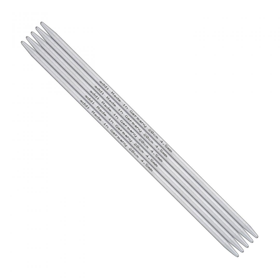 Addi Double Pointed Needles Aluminium 201-7