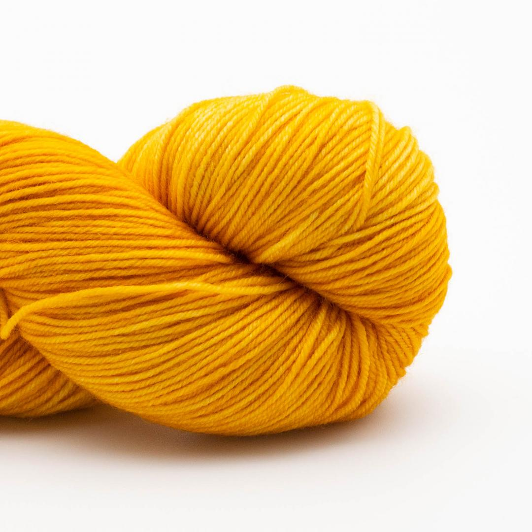 Kremke Soul Wool Lazy Lion Sock Yarn Semi Solid Gold
