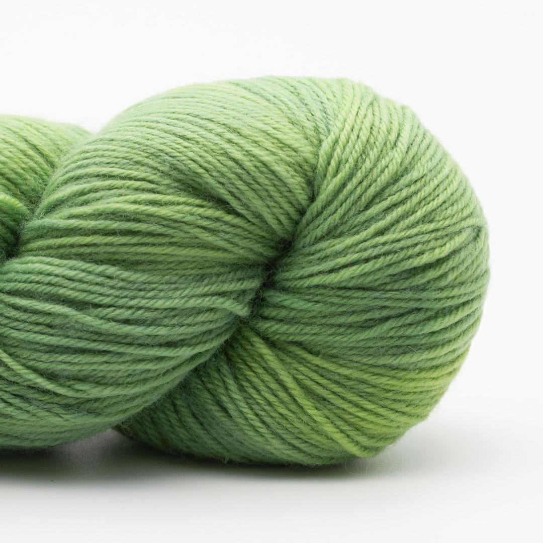 Kremke Soul Wool Lazy Lion Sock Yarn Semi Solid Summer Green