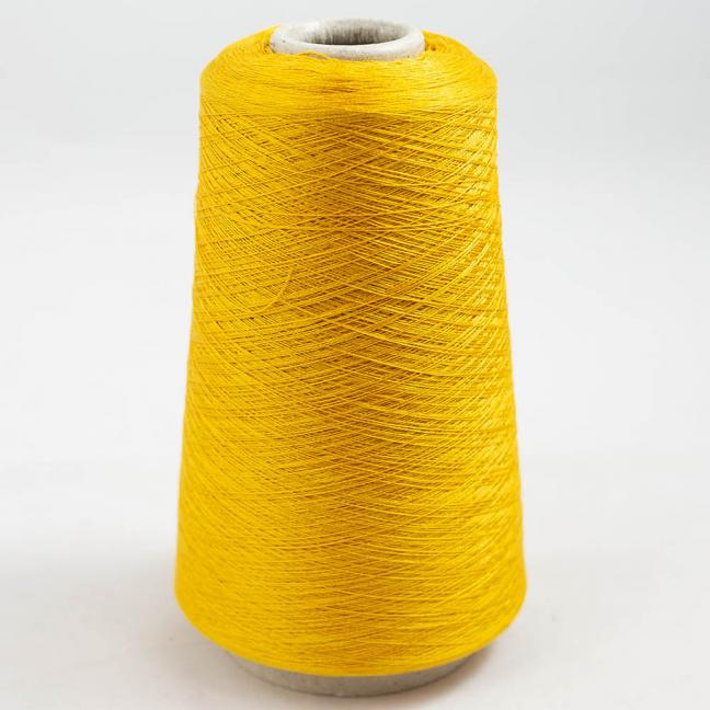 BC Garn Luxor Fino mercerized Cotton 200g Cone Gold