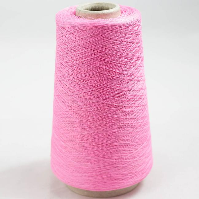 BC Garn Luxor Fino mercerized Cotton 200g Cone Pink