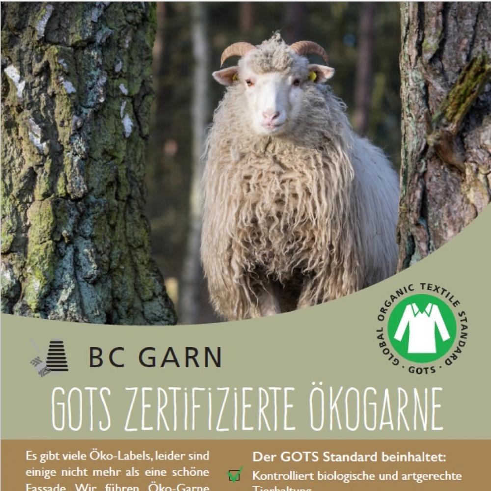 BC Garn GOTS Poster