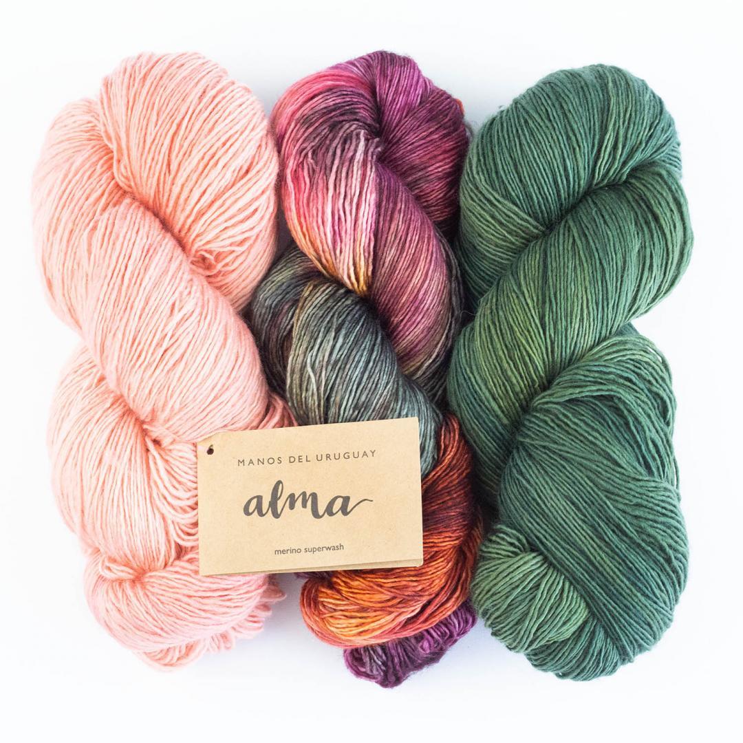 Manos del Uruguay Alma hand dyed