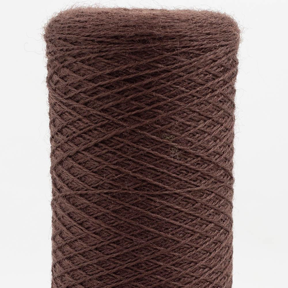 Kremke Soul Wool Merino Cobweb Lace Chocolate