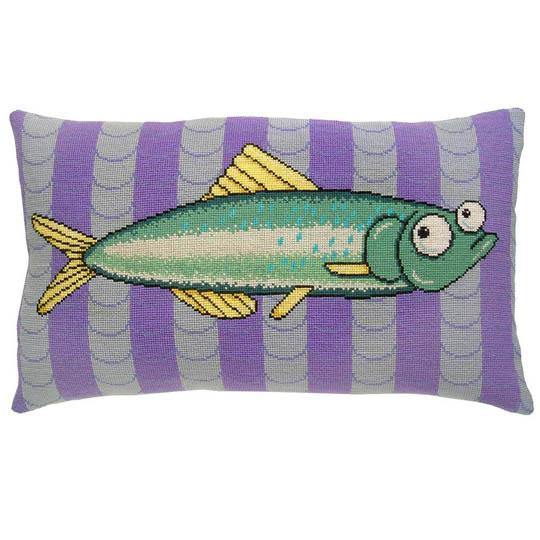 Fru Zippe Fish on Stripes 740352