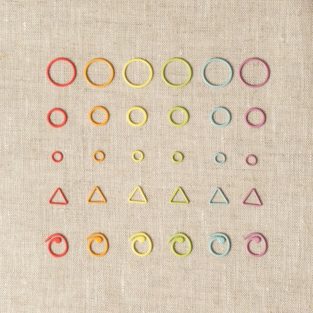 CocoKnits Opening Colored Stitch Marker Maschenmarkierer gemischt