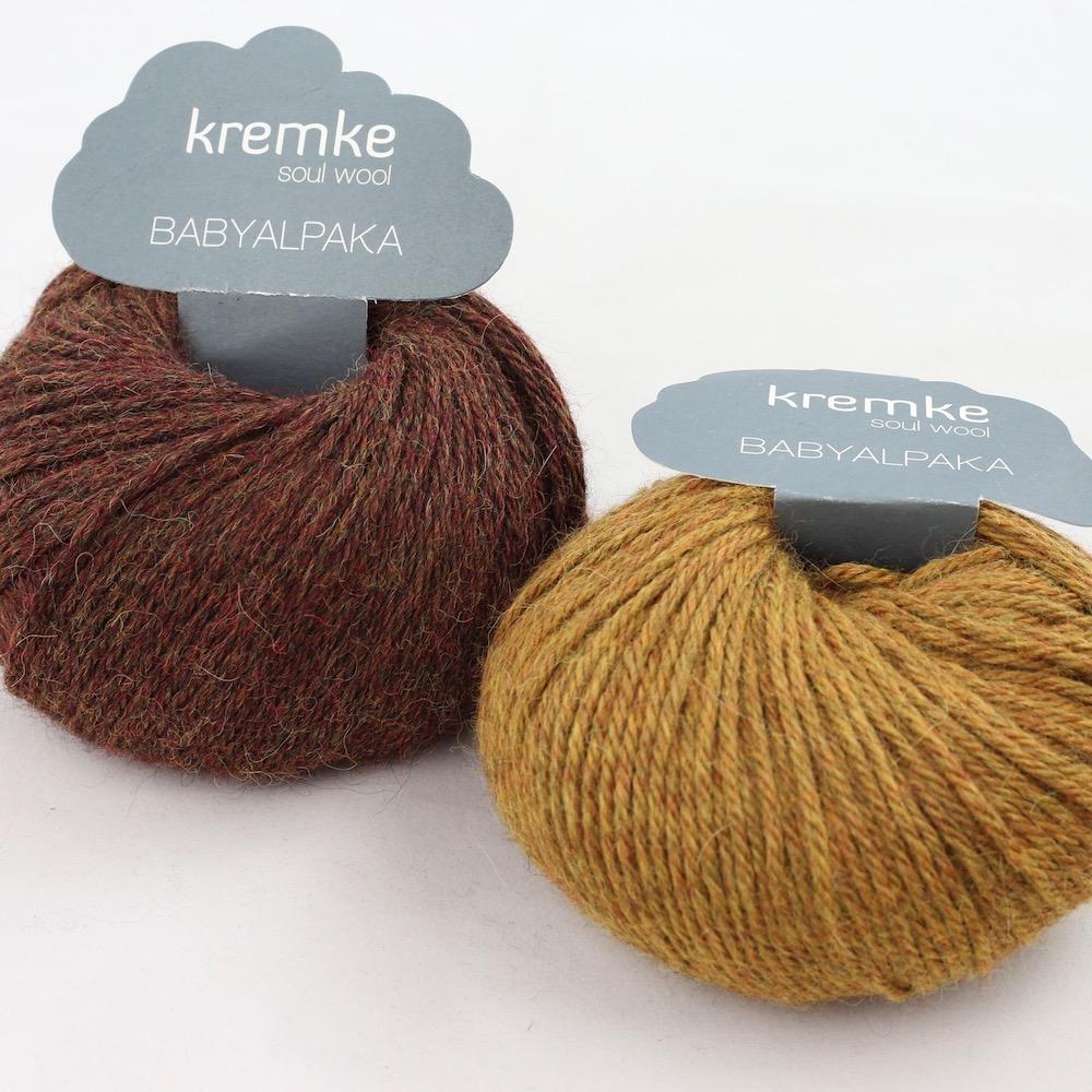 Kremke Soul Wool Baby Alpaca Kastanie