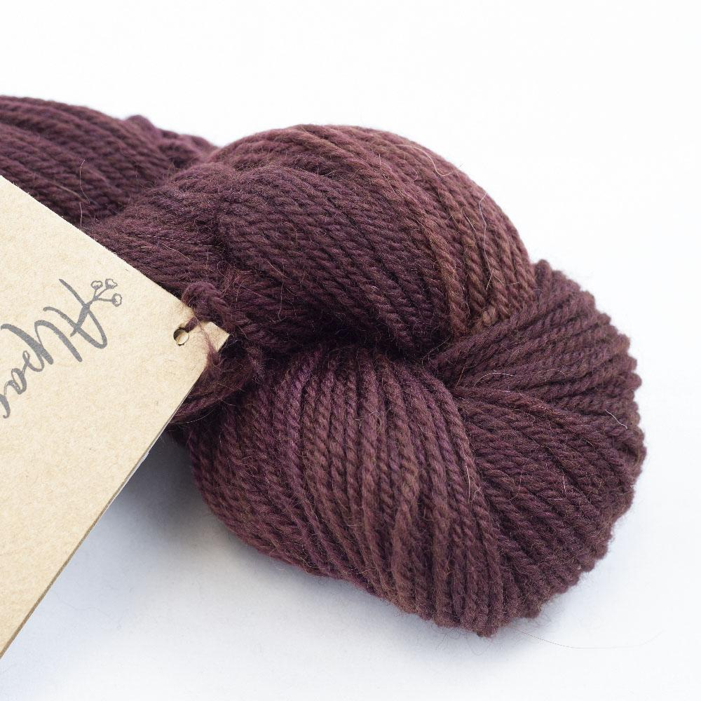 Manos del Uruguay Alpaca Heather Semi Solids Bing Cherry