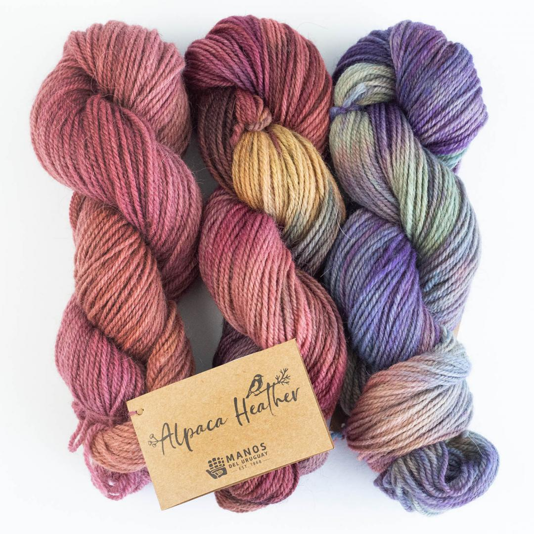 Manos del Uruguay Alpaca Heather Space Dyed