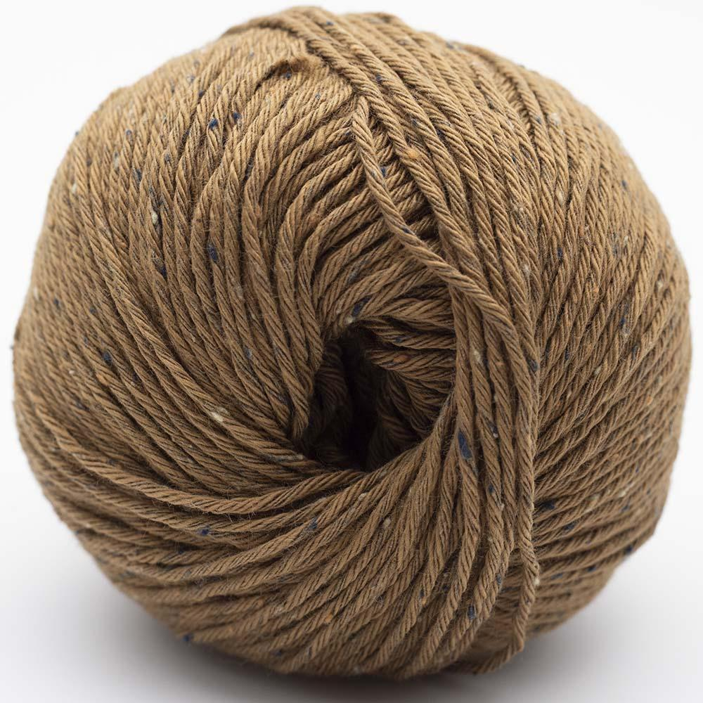 Erika Knight Gossypium Cotton TWEED Goldbraun