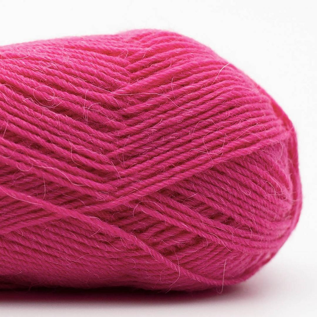 Kremke Soul Wool Edelweiss Alpaca 25 Violettrosa