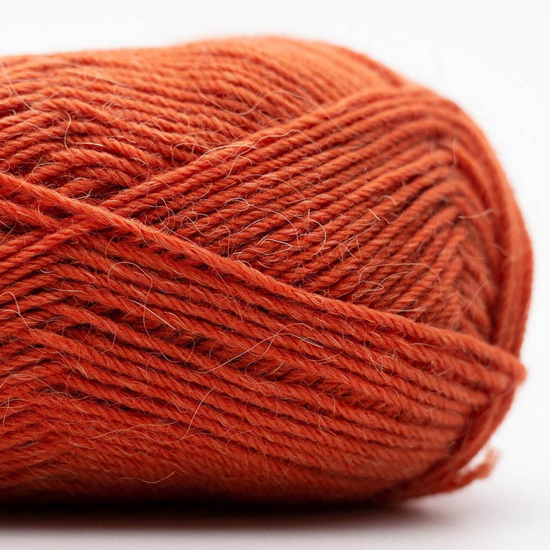Kremke Soul Wool Edelweiss Alpaca 25 Rost