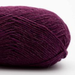 Kremke Soul Wool Edelweiss Alpaca 25 Dunkelviolett