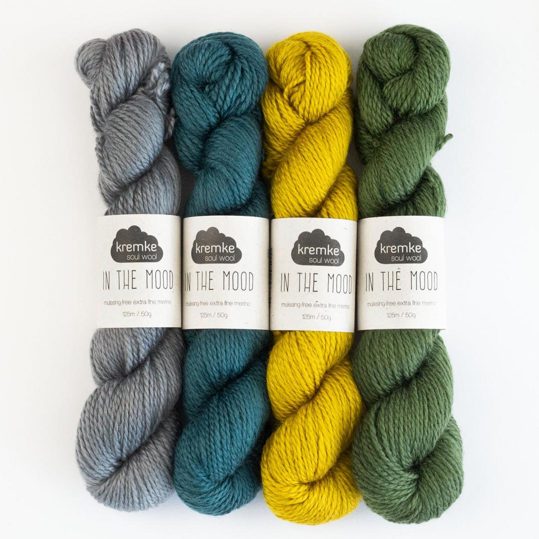 Kremke Soul Wool In the Mood solid  Silbergrau