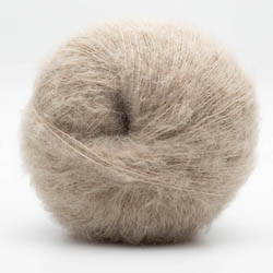 Kremke Soul Wool Baby Silk Fluffy solid Light beige