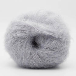 Kremke Soul Wool Baby Silk Fluffy solid Pale Grey
