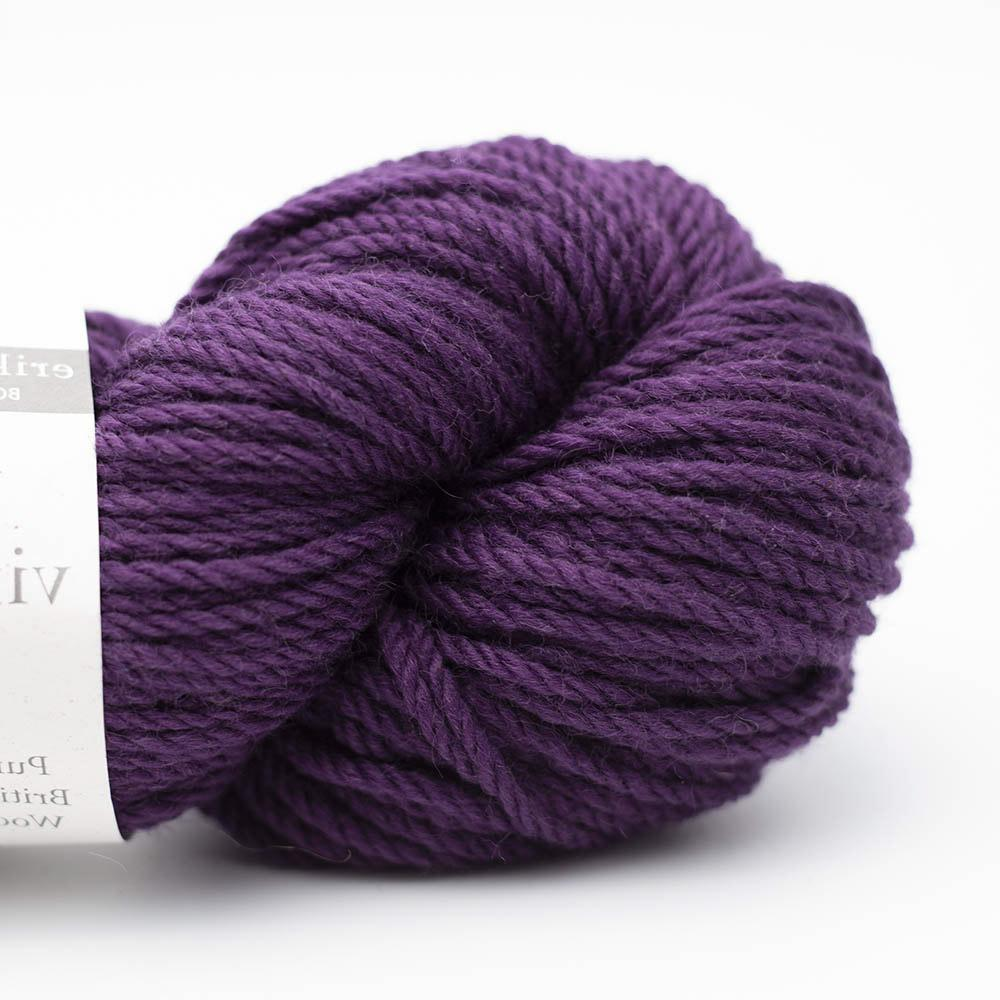Erika Knight Big Vintage Wool GOTS Mulberry