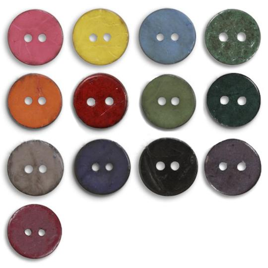Jim Knopf Cocos button flat 50mm