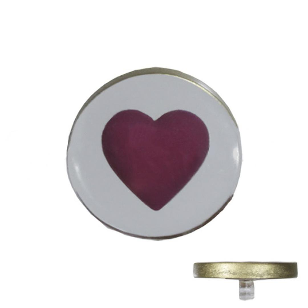 Jim Knopf Resin button with heart motiv 18 or 23mm