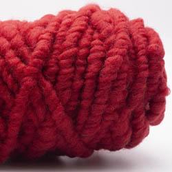 Kremke Soul Wool RUGby Teppichwolle gefärbt Kirschrot