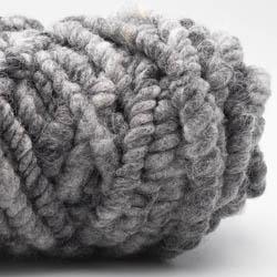Kremke Soul Wool RUGby Teppichwolle gefärbt Silbergraumeliert