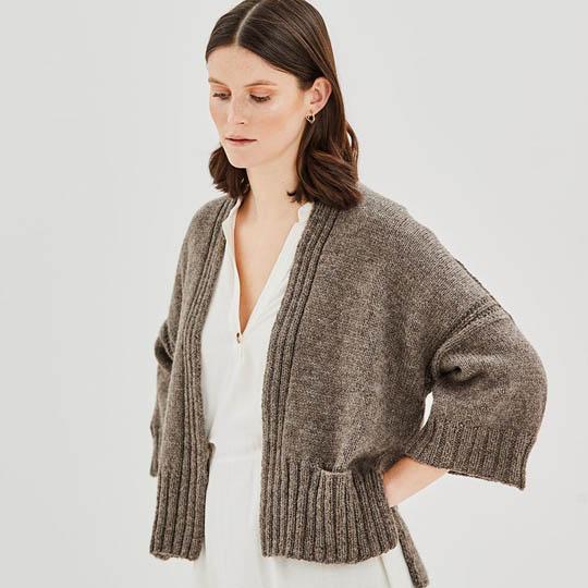 Erika Knight Pattern FETTLE for Wool Local EK0001