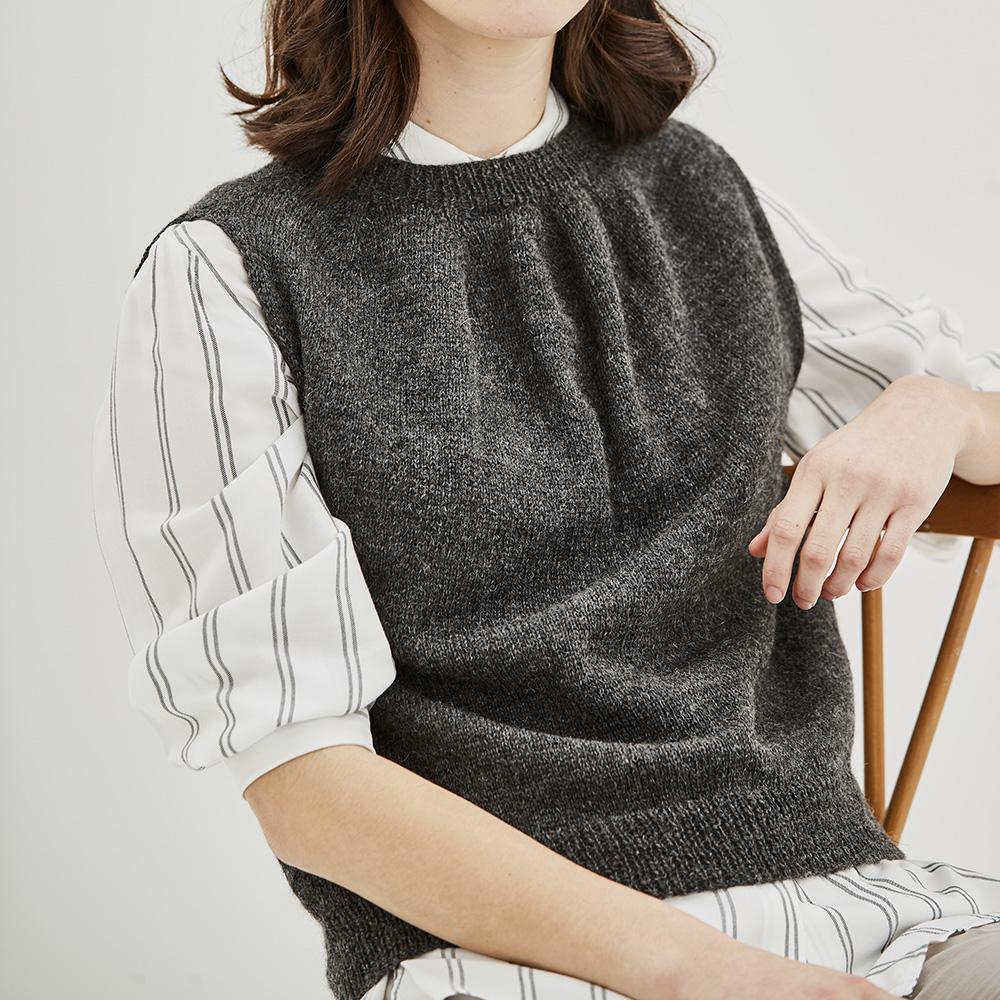 Erika Knight Pattern GRIMSHAW for Wool Local EK0012