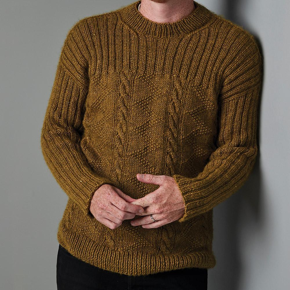 Erika Knight Pattern FORESTHILL for Wild Wool EK0015