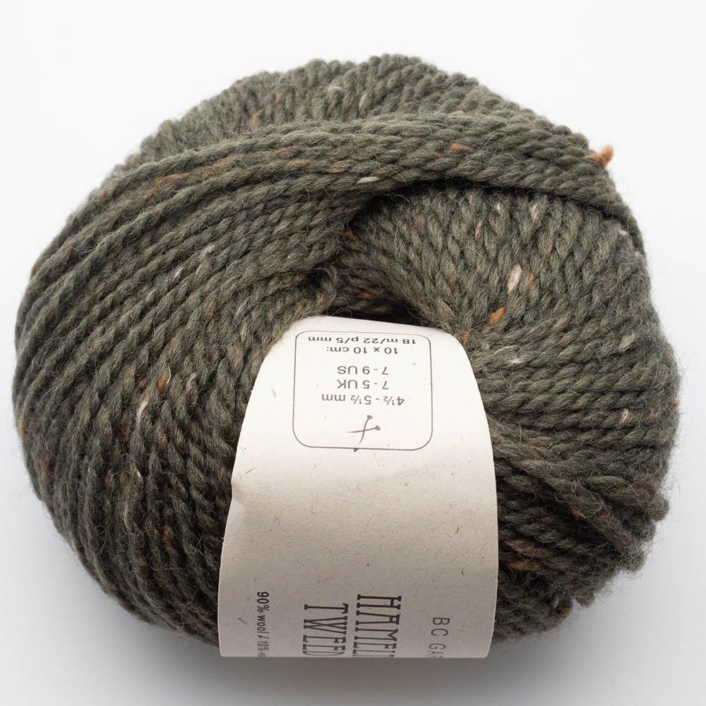 BC Garn Hamelton Tweed 1 light green