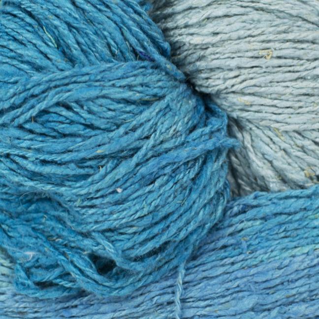 BC Garn Soft Silk handpaint aqua-mix
