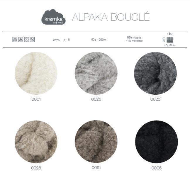 Kremke Farbkarten von Kremke Soul Wool Alpaka Bouclé print_ENG