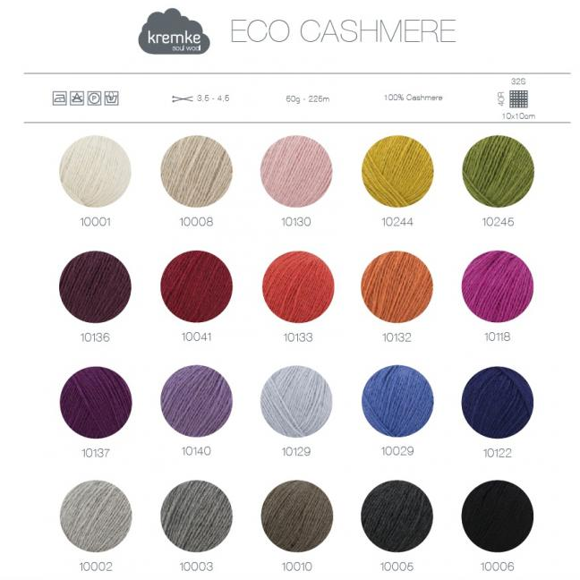 Kremke Farbkarten von Kremke Soul Wool Eco Cashmere print_ENG