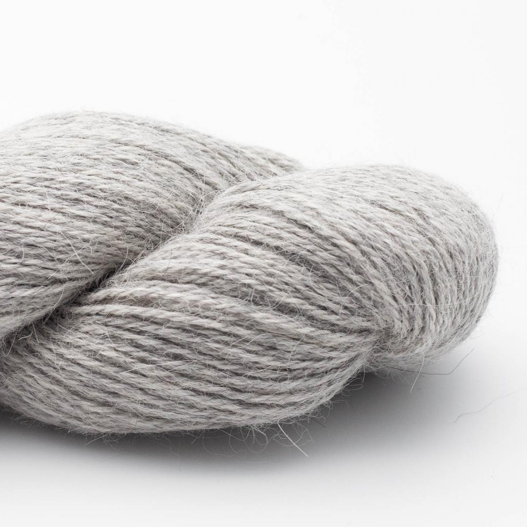 Kremke Soul Wool Alpaka Superfine Fino (100g) light grey_10130